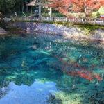山口県美祢市のパワースポット「別府弁天池」は青く輝く癒しの泉